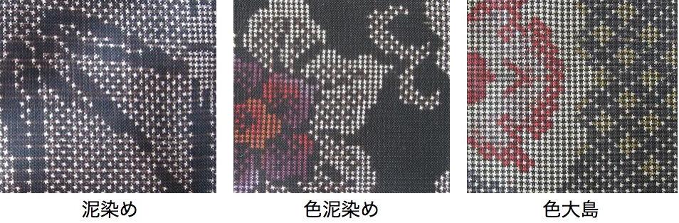 本場大島紬 染め方
